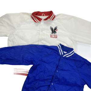 University/College/Souvenir Nylon Jackets Northern Pole Vintage Wholesale