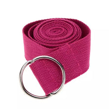 Load image into Gallery viewer, Cotton Yoga stretch Strap