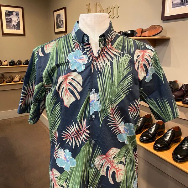 "TR x LS ""Tropic Haze"" Aloha Shirt in Black"