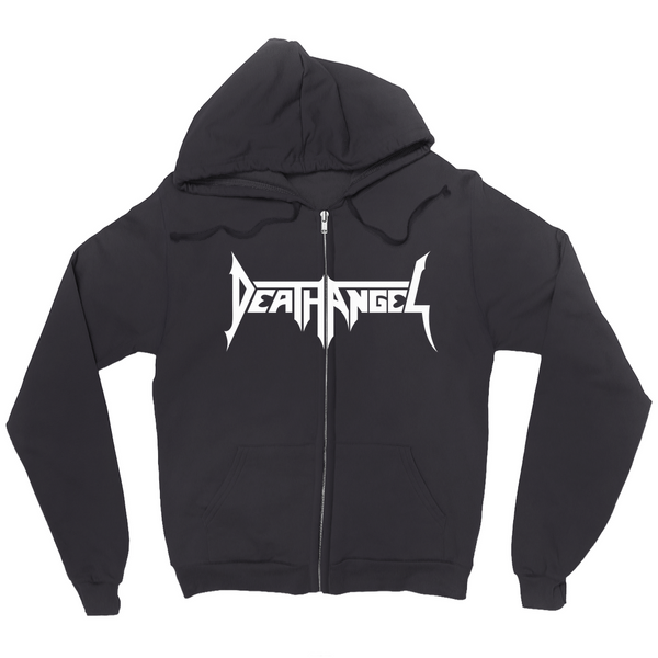 Death Angel Black Hoodie (Zip-up)
