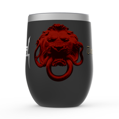 The Art of Dying Album Stemless Wine Tumbler