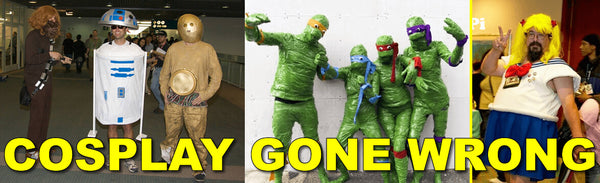 Cosplay Gone Wrong - Notable Cosplay Costume Fails