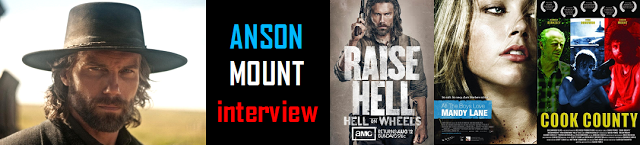 Raise Hell: Star of AMC'S HELL ON WHEELS Anson Mount talks with TV STORE ONLINE