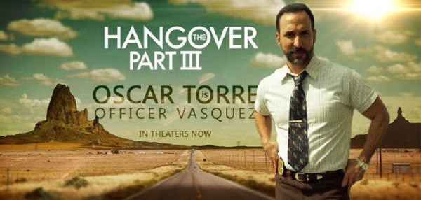 TV Store Online talks with actor Oscar Torre about his role in The Hangover Part 3