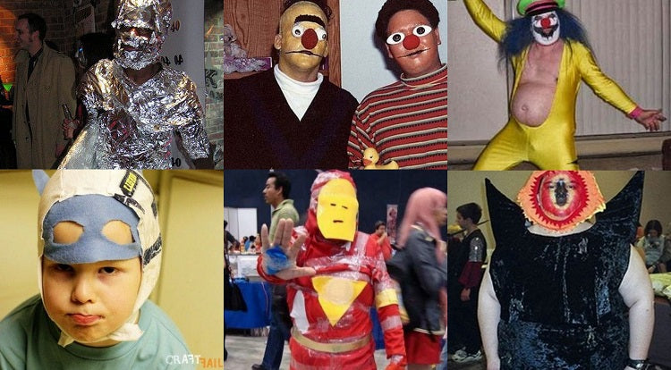 #EPICFAIL: THE TOP 10 WORST COMIC CON COSTUMES EVER