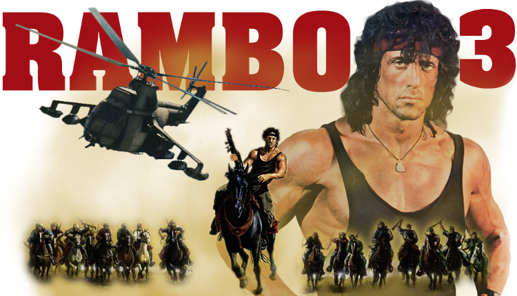 Director of Rambo 3 Peter Macdonald talks about Sylvester Stallone's version of Lawrence of Arabia