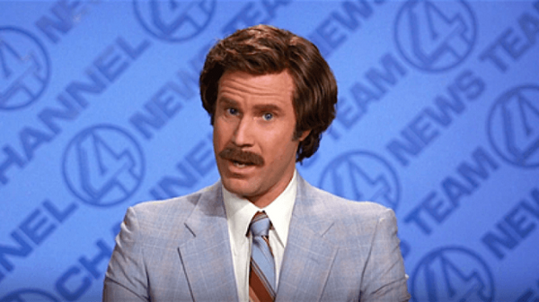 Anchorman - A look back at the hilarious Ron Burgandy