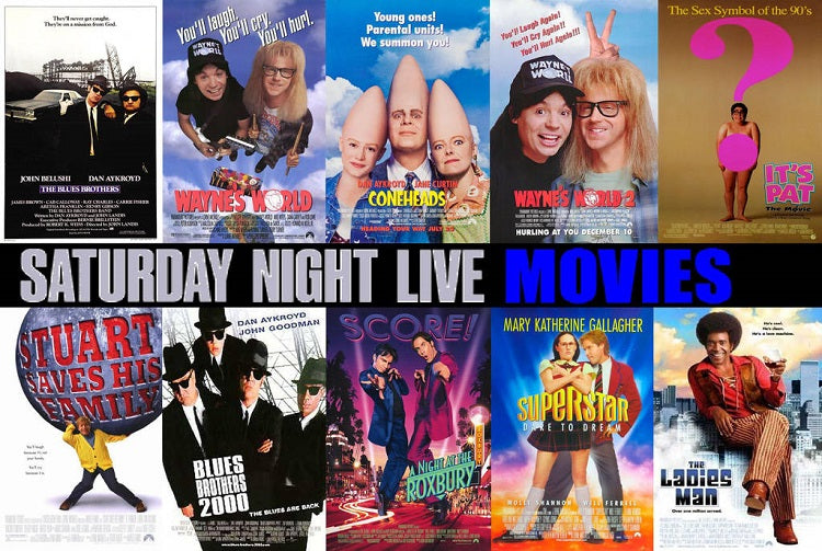 TVSO PICKS: Top 5 Saturday Night Live Movie Spin-Offs