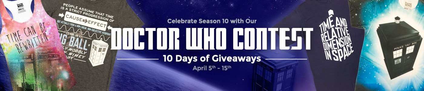 Doctor Who 10 Days of Giveways