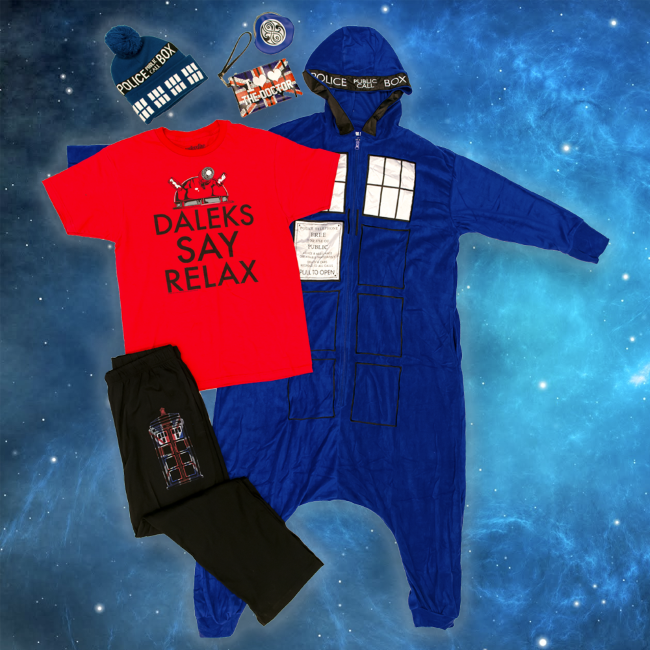 Grand Prize Dr Who Merchandsie