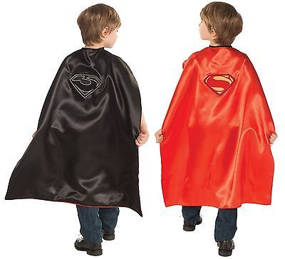 Superman & General Zod Reversible Costume Cape-tvso