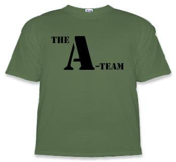 The A-Team Logo Adult T-shirt-tvso