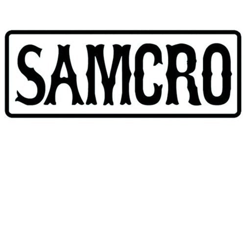 Sons of Anarchy SAMCRO Text Patch-tvso