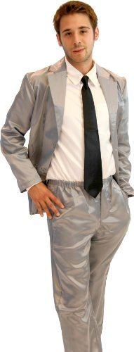 4 Piece Silk Mens Pajama Suit-tvso