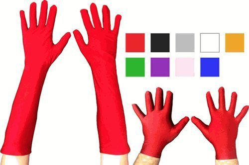 Superhero Short Costume Gloves-tvso