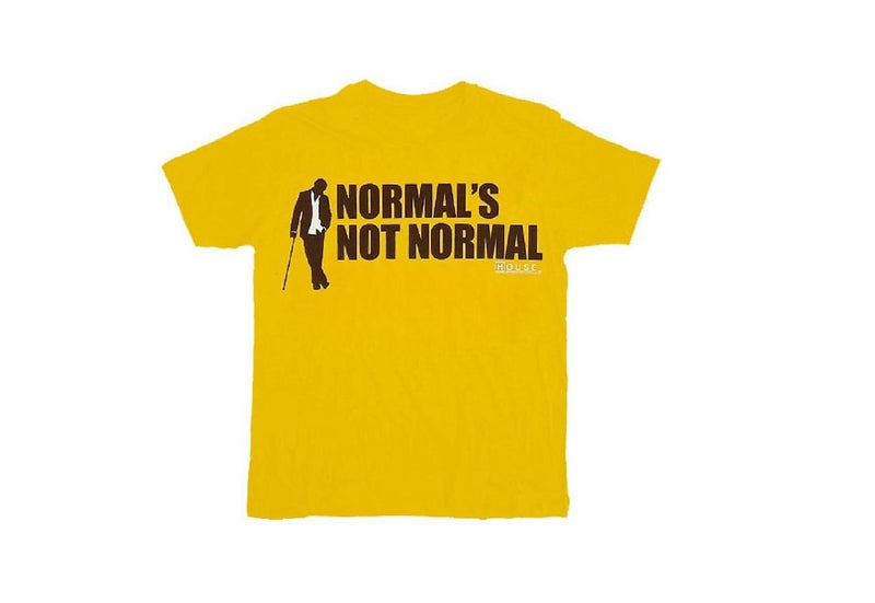 House M.D. Normal's Not Normal T-shirt-tvso