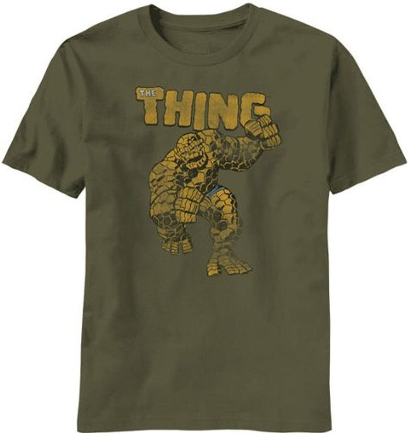 The Thing Rock Monster Military T-Shirt-tvso