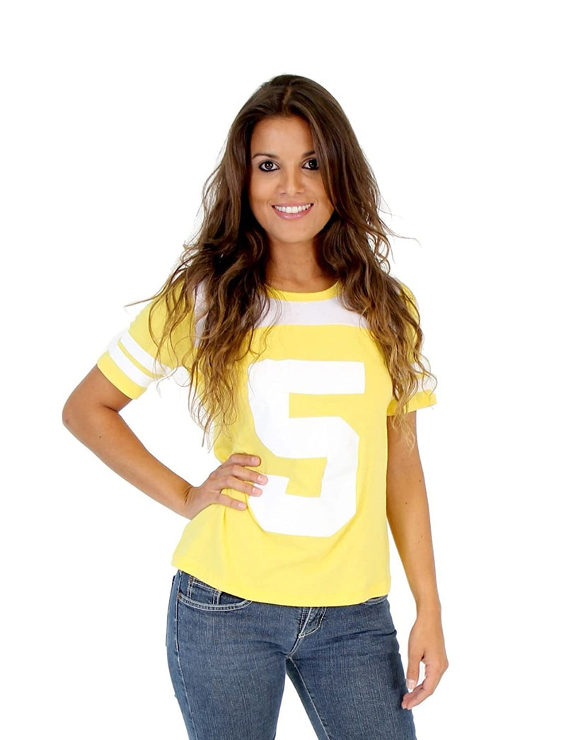 April O' Neil 5 Yellow Costume Toddlers T-shirt