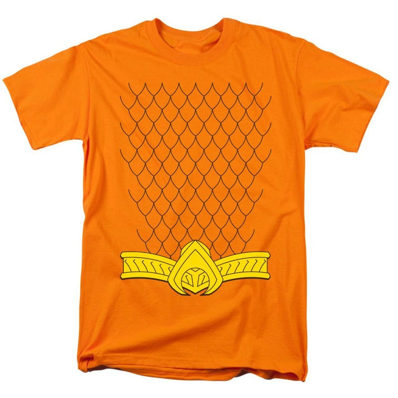Aquaman Uniform Costume T-shirt-tvso