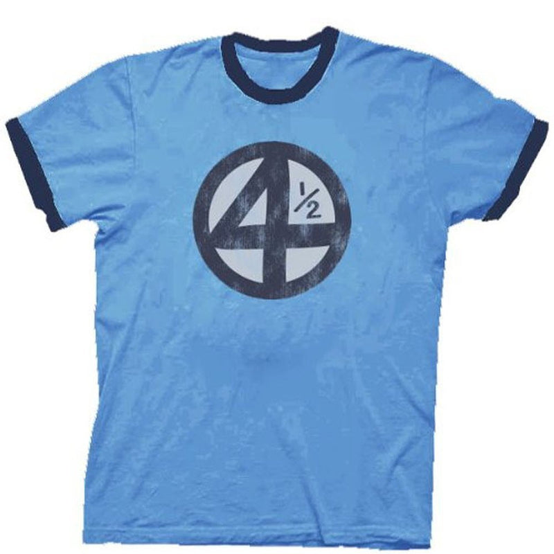 Fantastic Four 4.5 4 1/2 Scott Pilgrim Distressed T-shirt-tvso