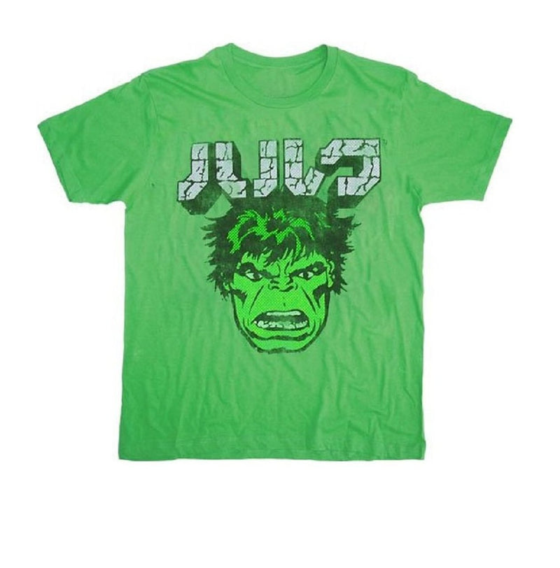Incredible Hulk Japanese Green T-shirt-tvso