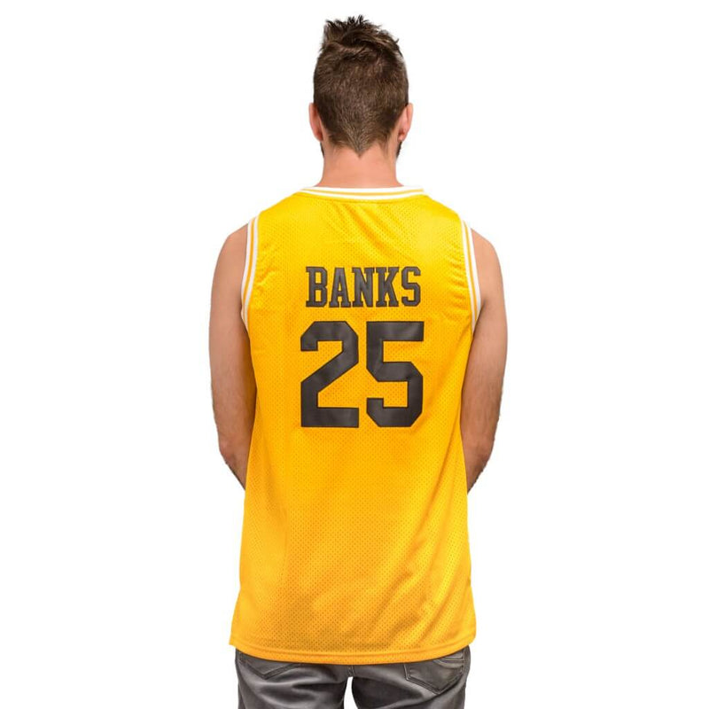 Bel Air Basketball Yellow Jersey