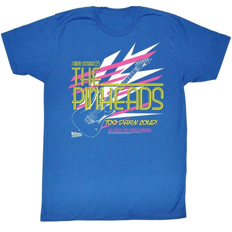 Back to the Future The Pinheads Too Darn Loud T-Shirt-tvso