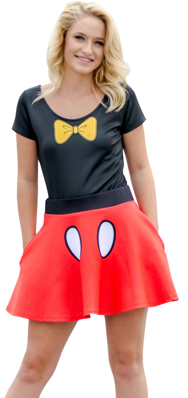 Minnie Mouse Bodysuit and Skirt Costume Set