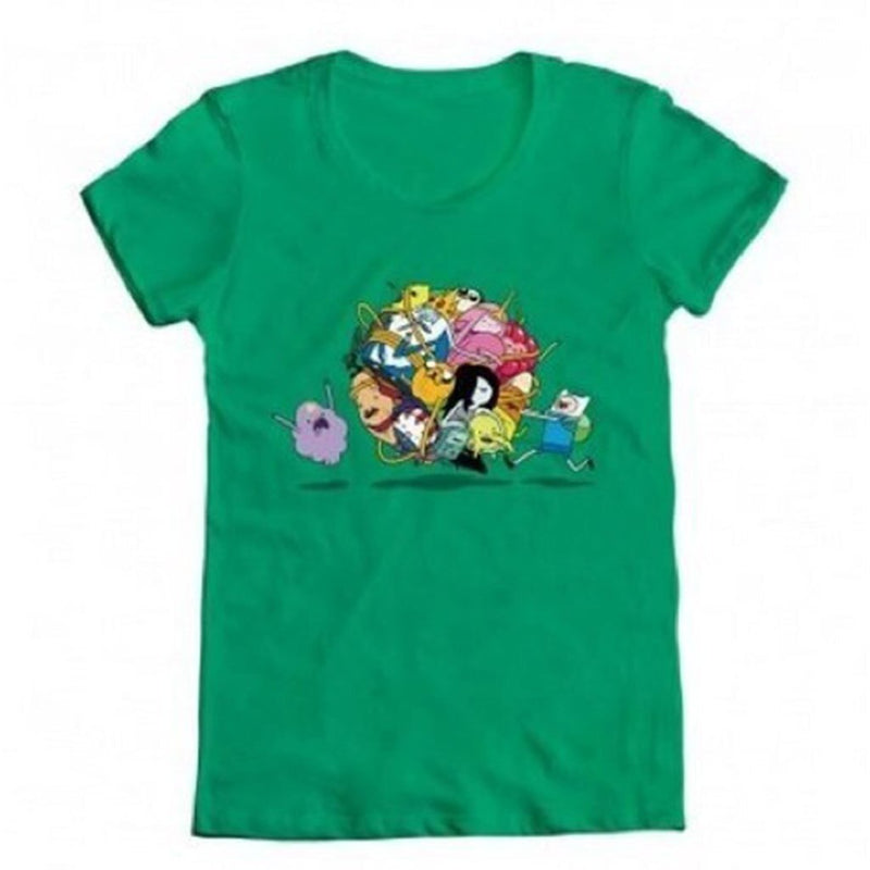 Adventure Time Group Roll Ball T-shirt-tvso