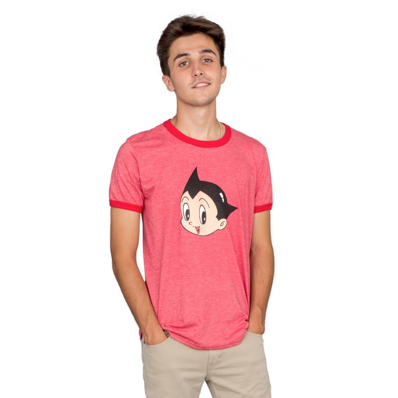 Astro Boy Scott Pilgrim vs. The World Heather T-shirt-tvso