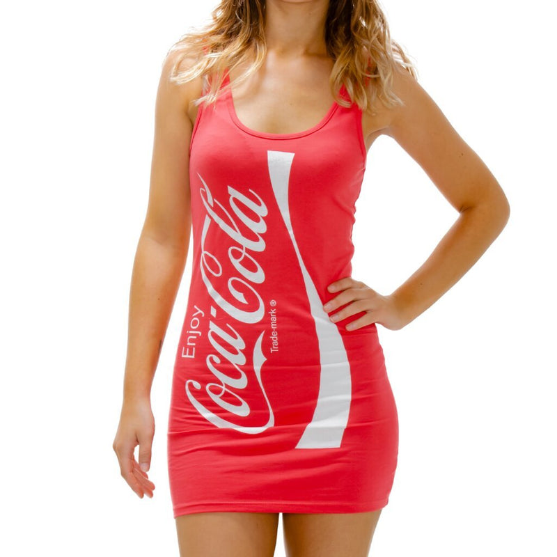 Coke Coca-Cola Tunic Tank Dress-tvso