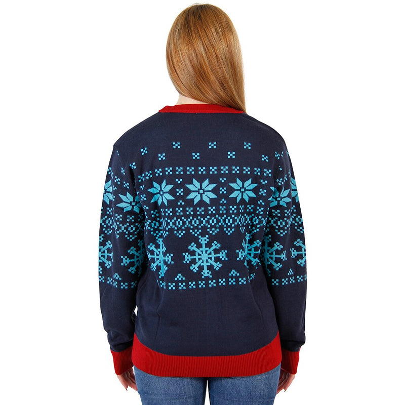 Things 1 & 2 Ugly Christmas Sweater Cardigan-tvso