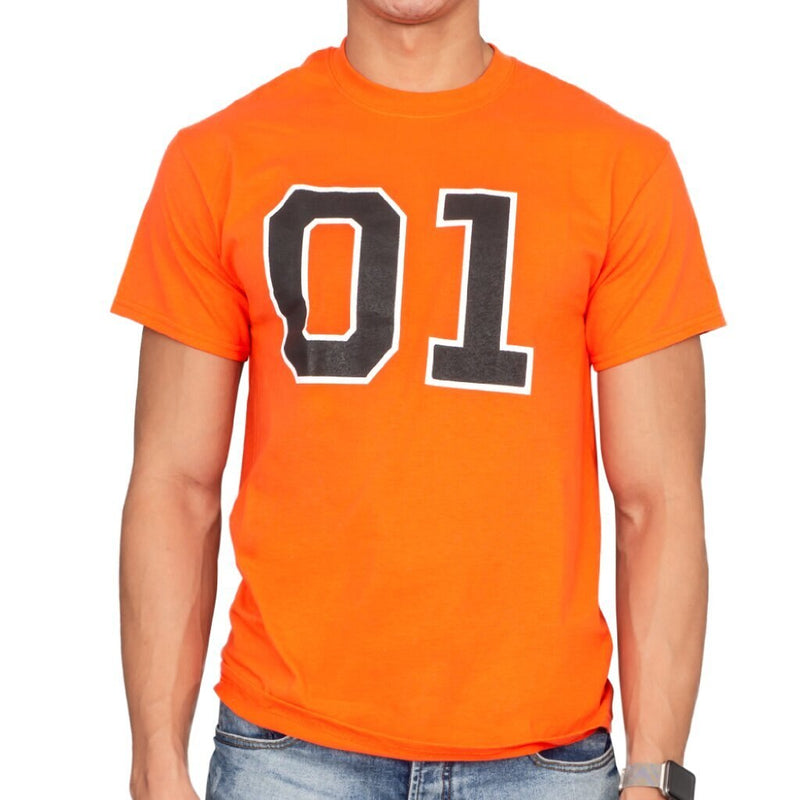 Dukes of Hazzard 01 Bright Distressed T-Shirt-tvso