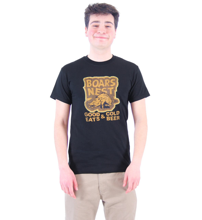 Boars Nest Good Eats & Cold Beer T-shirt-tvso