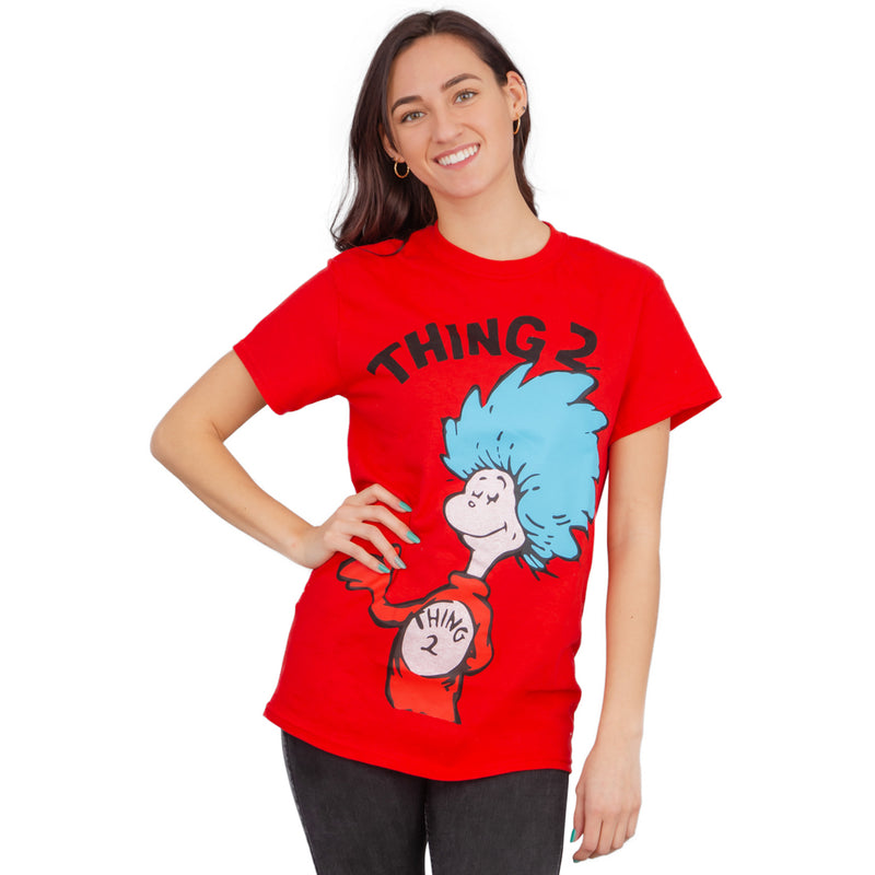 Thing 1 or Thing 2 Adult T-shirt-tvso