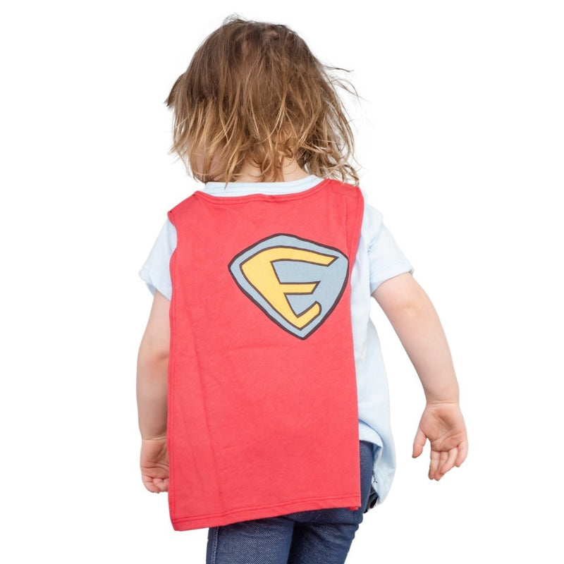 Elmo To The Rescue T-Shirt with Cape-tvso