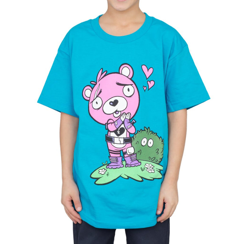 Fortnite Cuddle Team Leader Love Youth T-shirt-tvso