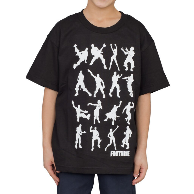 Fortnite Dance Dance Youth Black T-shirt-tvso
