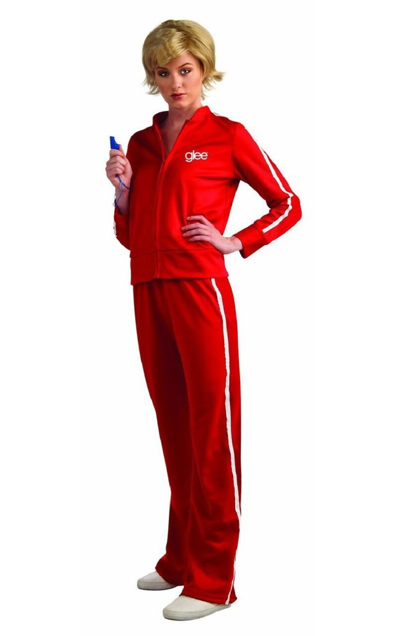 Sue Sylvester Track Suit Costume-tvso