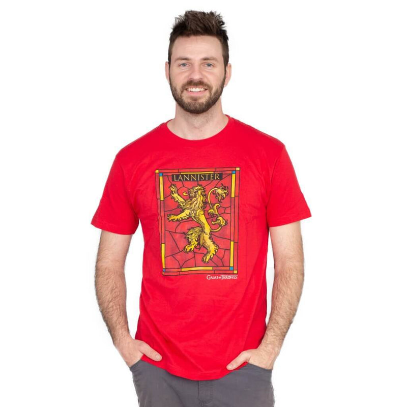 Game of Thrones House Lannister Logo T-Shirt-tvso