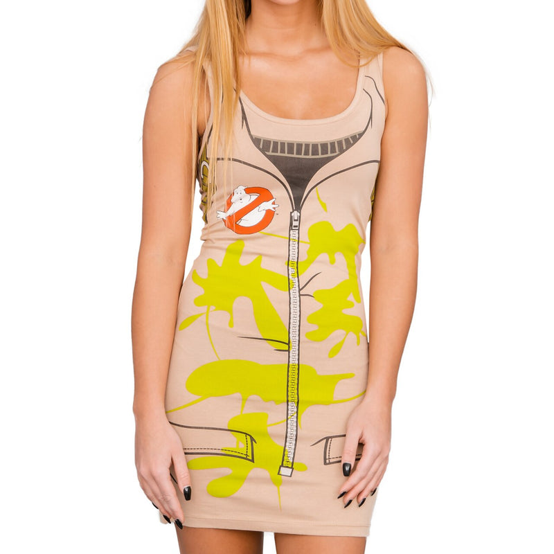 Ghostbusters Costume Tank Dress-tvso