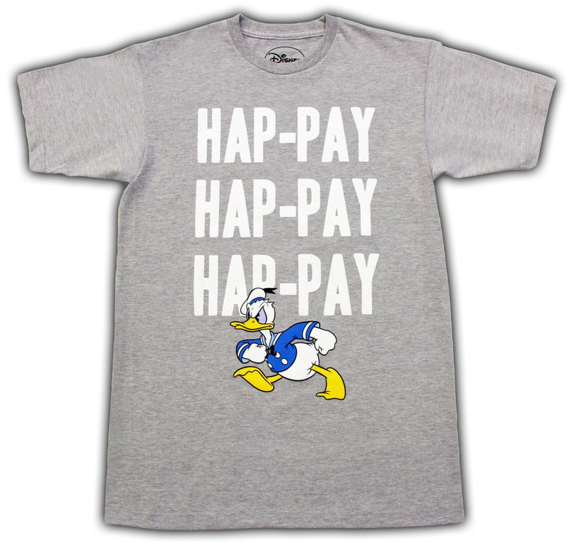 Duck Dynasty Donald Duck Hap-Pay T-Shirt-tvso