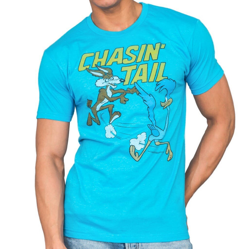 Looney Tunes Chasin' Tail Adult T-Shirt-tvso