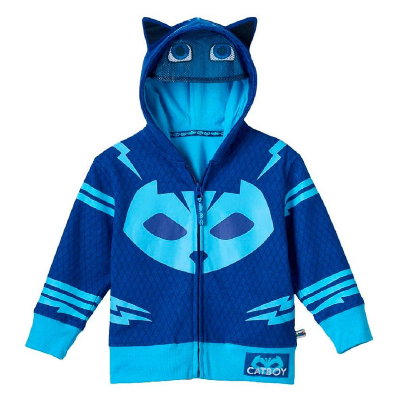 PJ Masks Toddler's Zip-Up Mask Hoodie-tvso