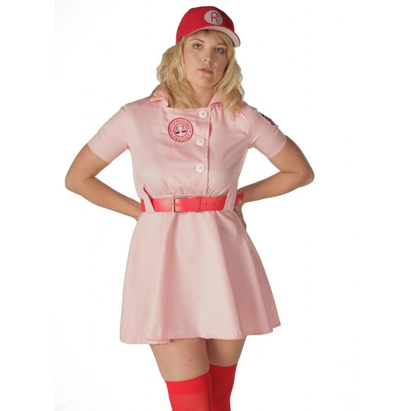Rockford Peaches AAGPBL Baseball Costume Dress-tvso