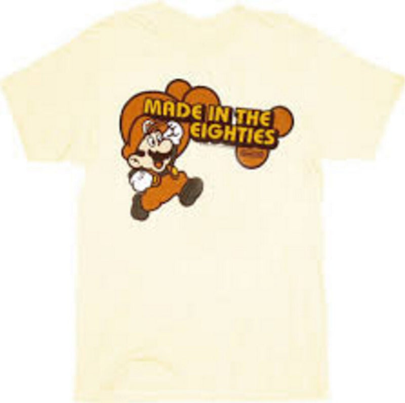 Super Mario Made in the Eighties 80's T-shirt-tvso