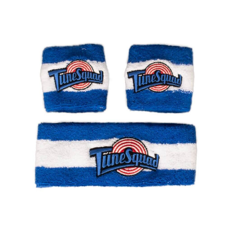 Space Jam Headband & Wristband Terry Knit Set-tvso