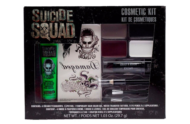 Suicide Squad The Joker Makeup Cosmetic Kit-tvso