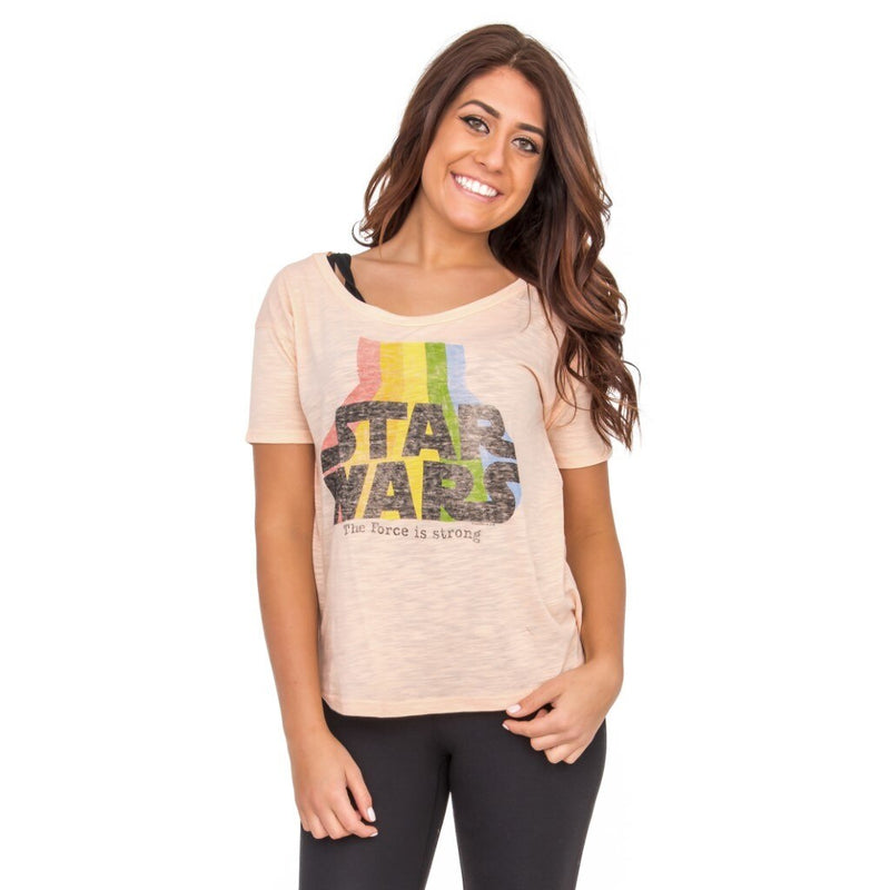 The Force Is Strong Vintage T-shirt-tvso