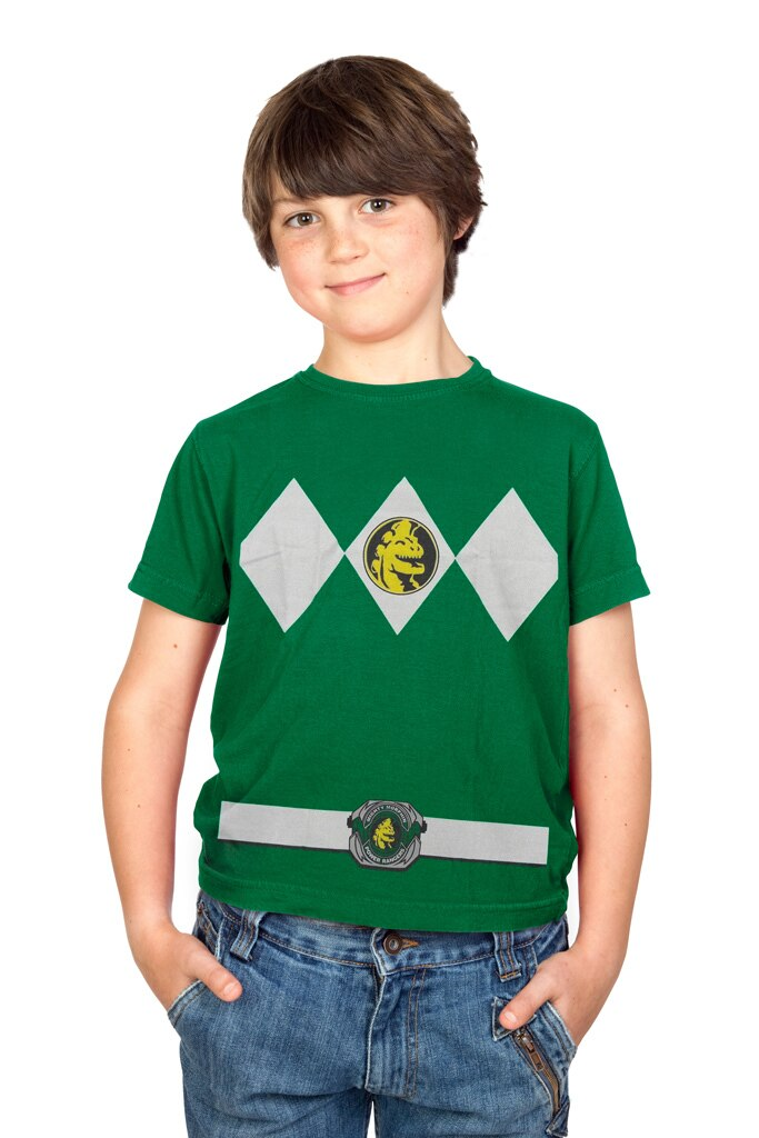 Power Rangers Costume Youth T-shirt-tvso